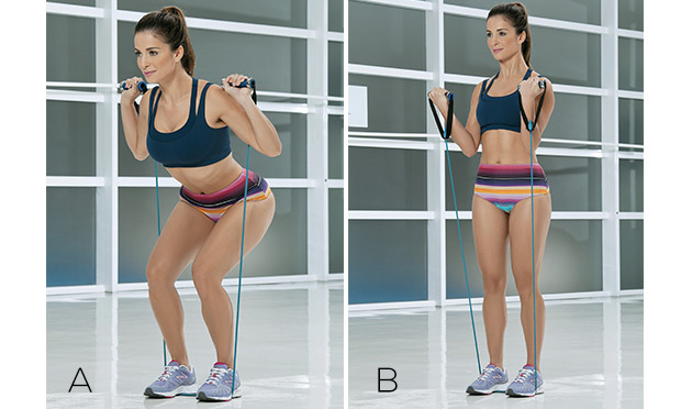 Elástico para definir os músculos e enxugar as gordurinhas