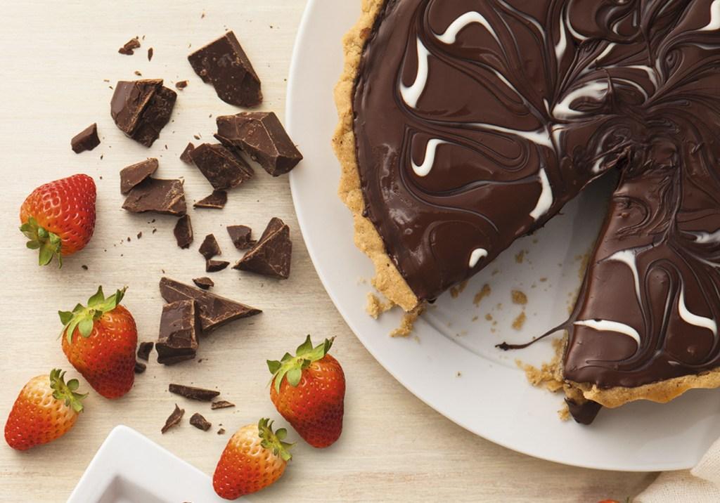 Torta de chocolate glúten free