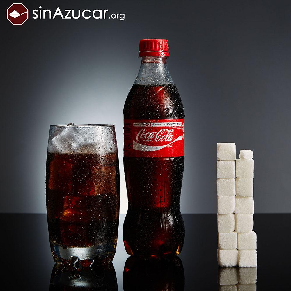 Quantidade de açúcar na Coca-Cola