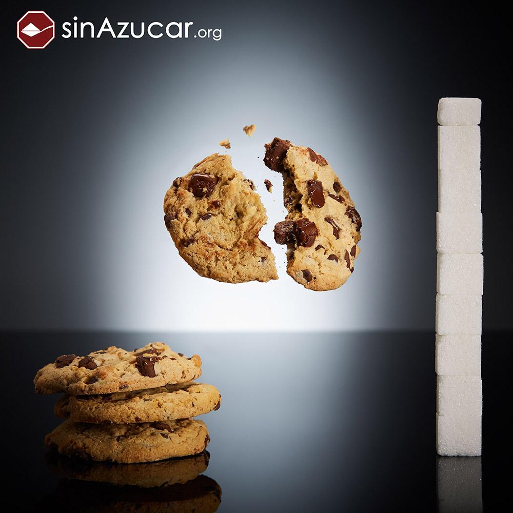 Quantidade de açúcar no biscoito cookie