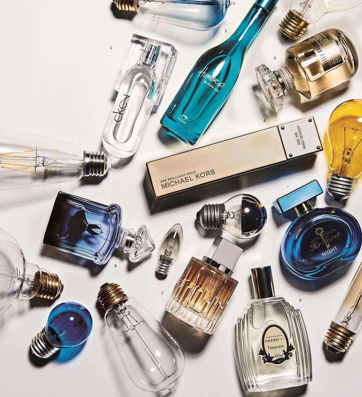 Perfume fresco para o verão