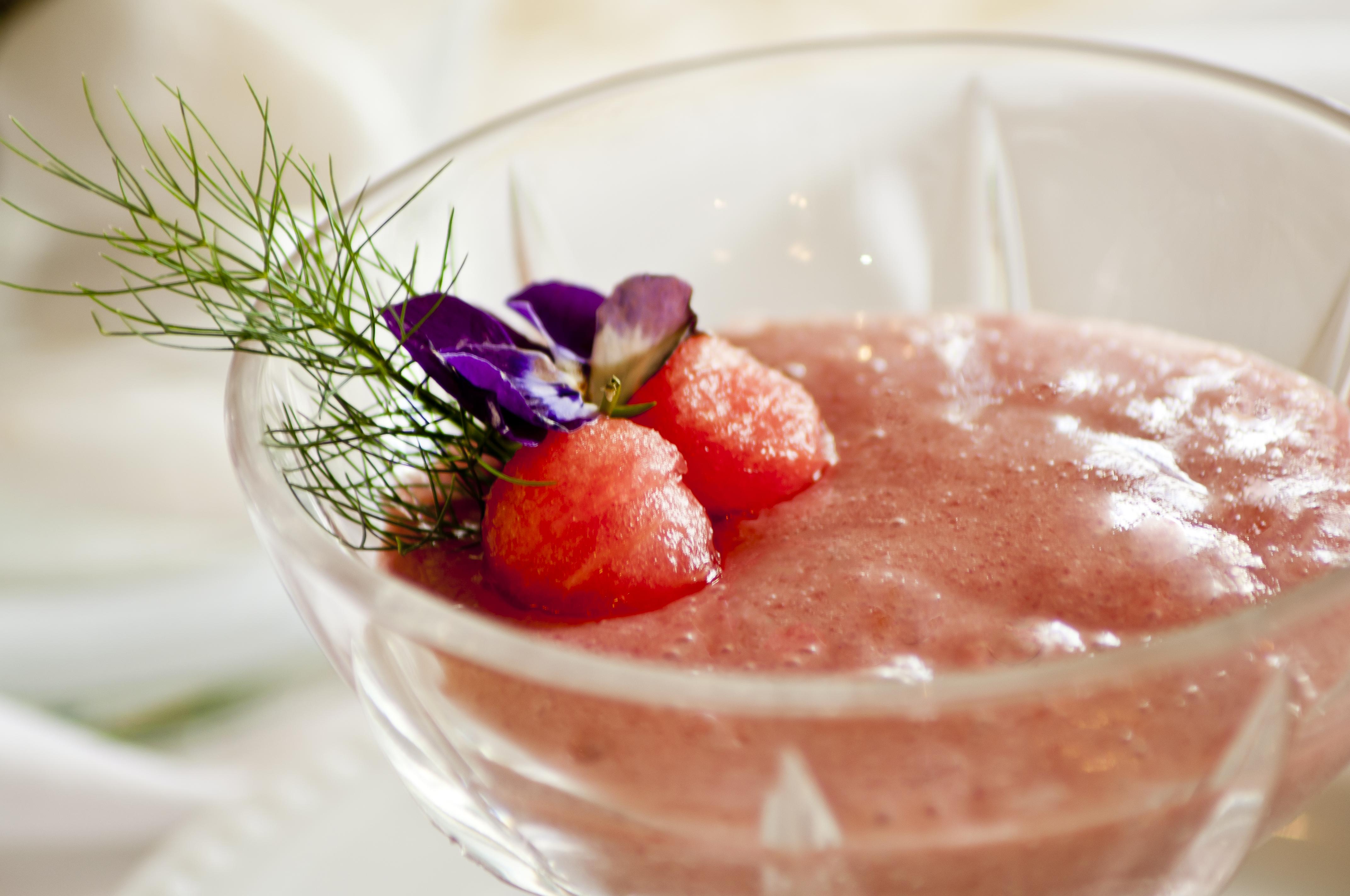 Shake de frutas vermelhas com chia
