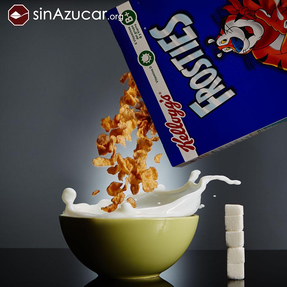 Quantidade de açúcar no sucrilhos