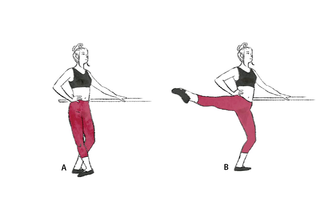 Treino ballet fitness