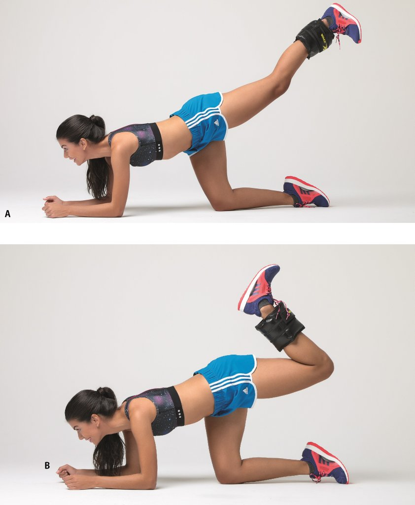 Exercícios para glúteos e músculos posteriores