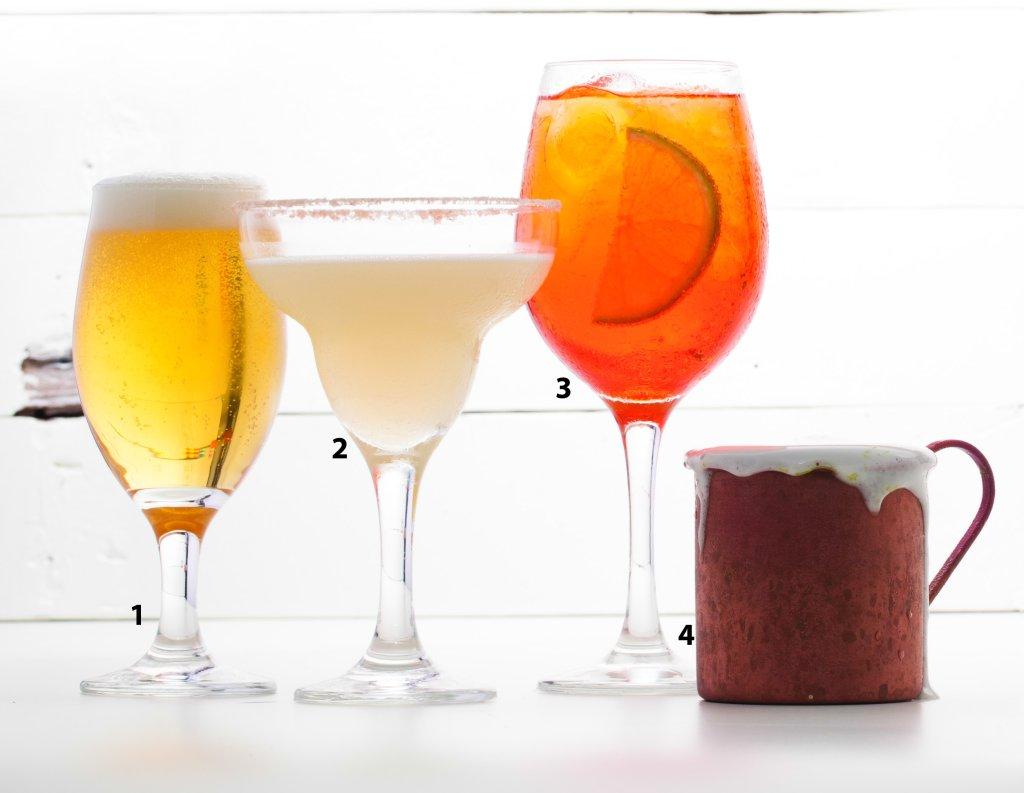 Drinks mais saudáveis