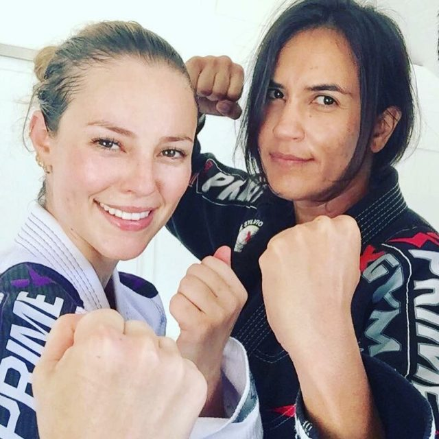 Paolla Oliveira e Erica Paes