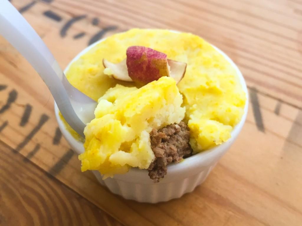Escondidinho de batata-doce e carne moída