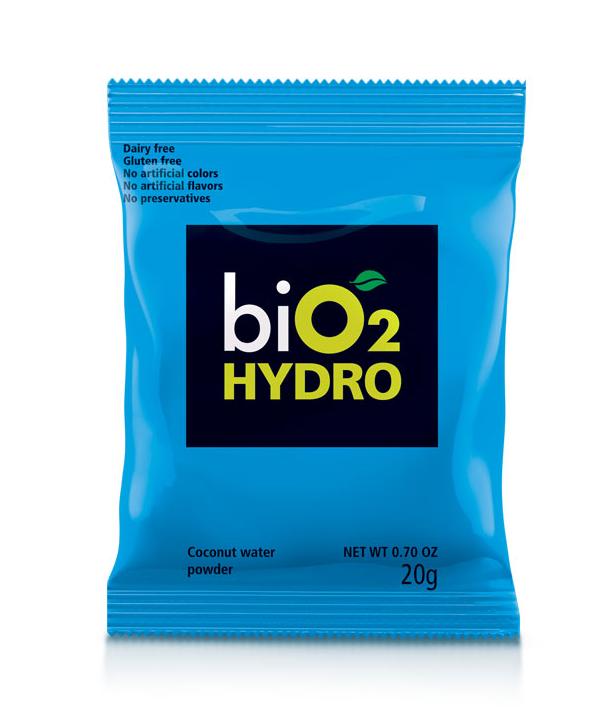 Embalagem da água de coco em pó da BiO2