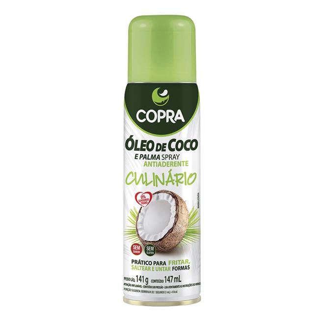 Embalagem do spray de óleo de coco da Copra