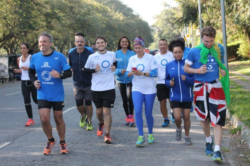 Gavin Griffiths correndo