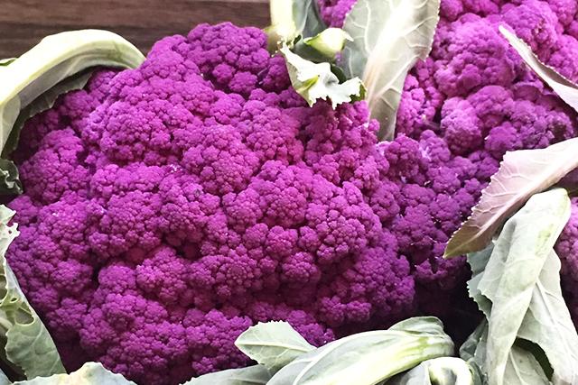 Verduras frescas e coloridas todos os dias