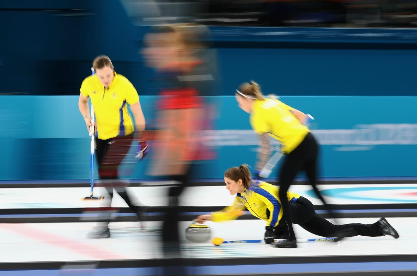 Curling Suécia