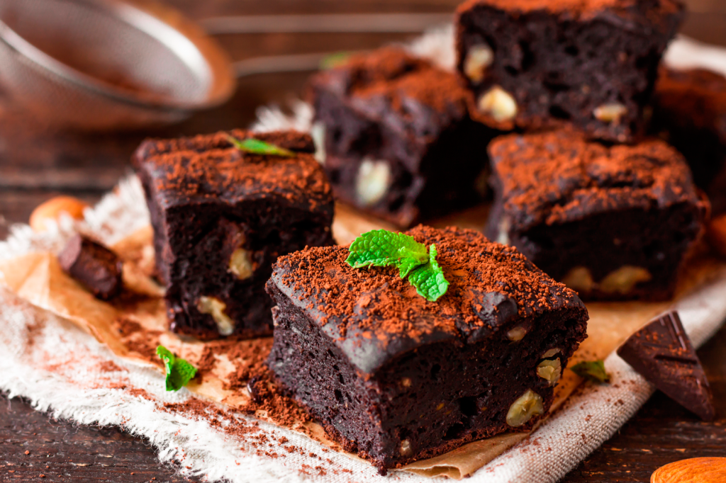 brownie chocolate meio-amargo