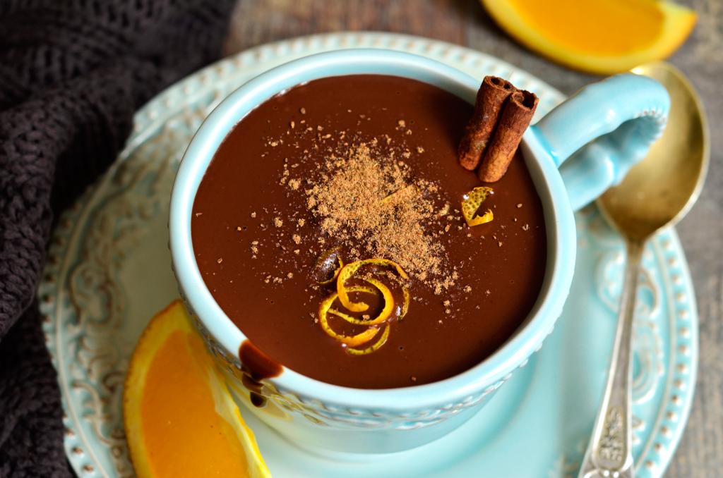 creme cítrico de chocolate