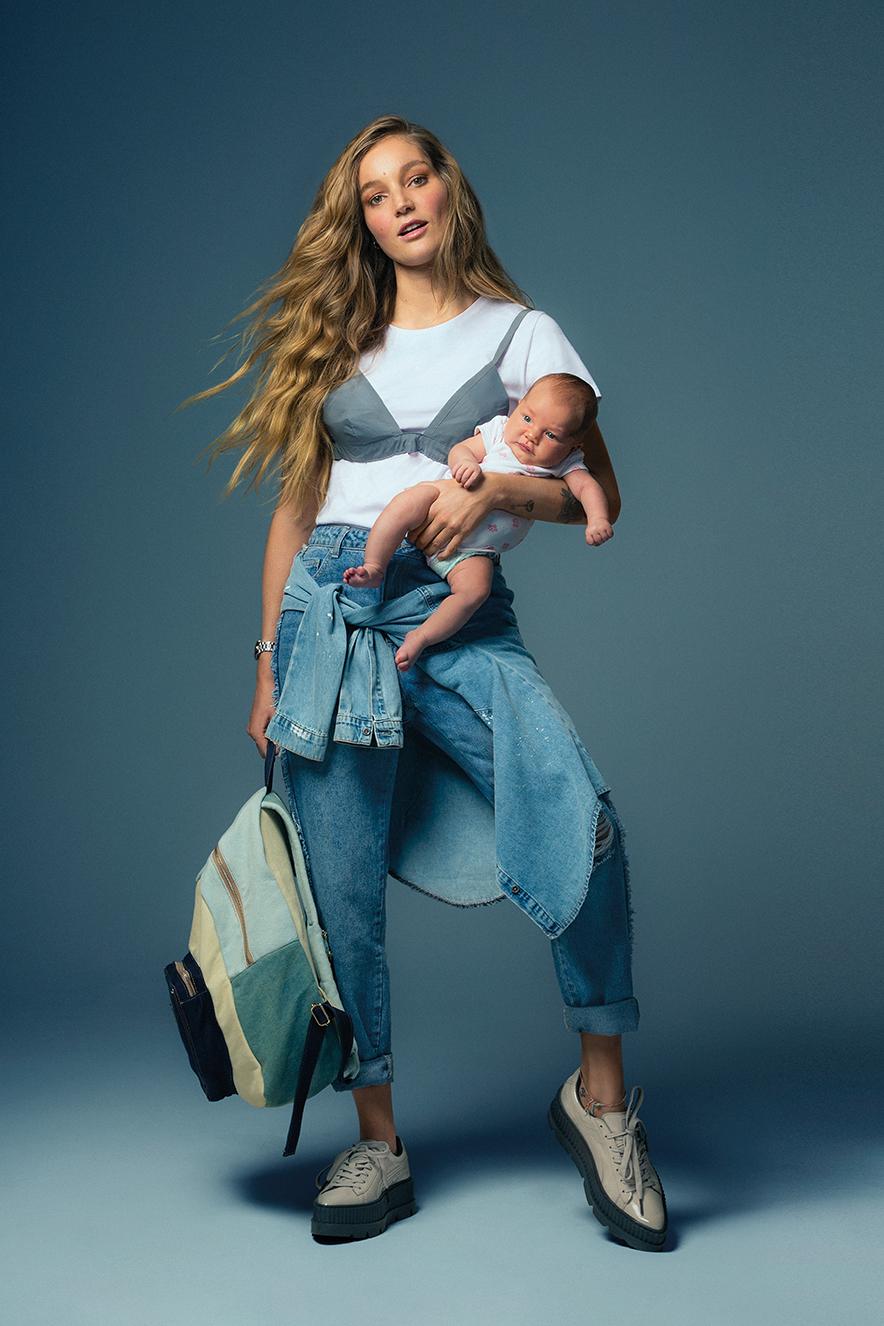 Ensaio de moda Jeans