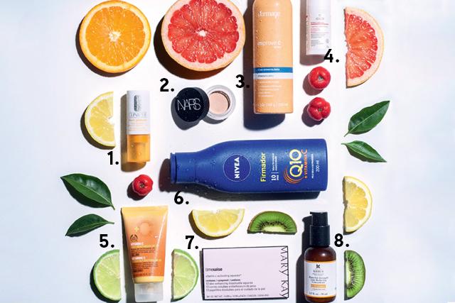 produtos de beleza com vitamina c