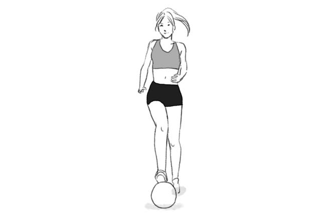 Treino com bola