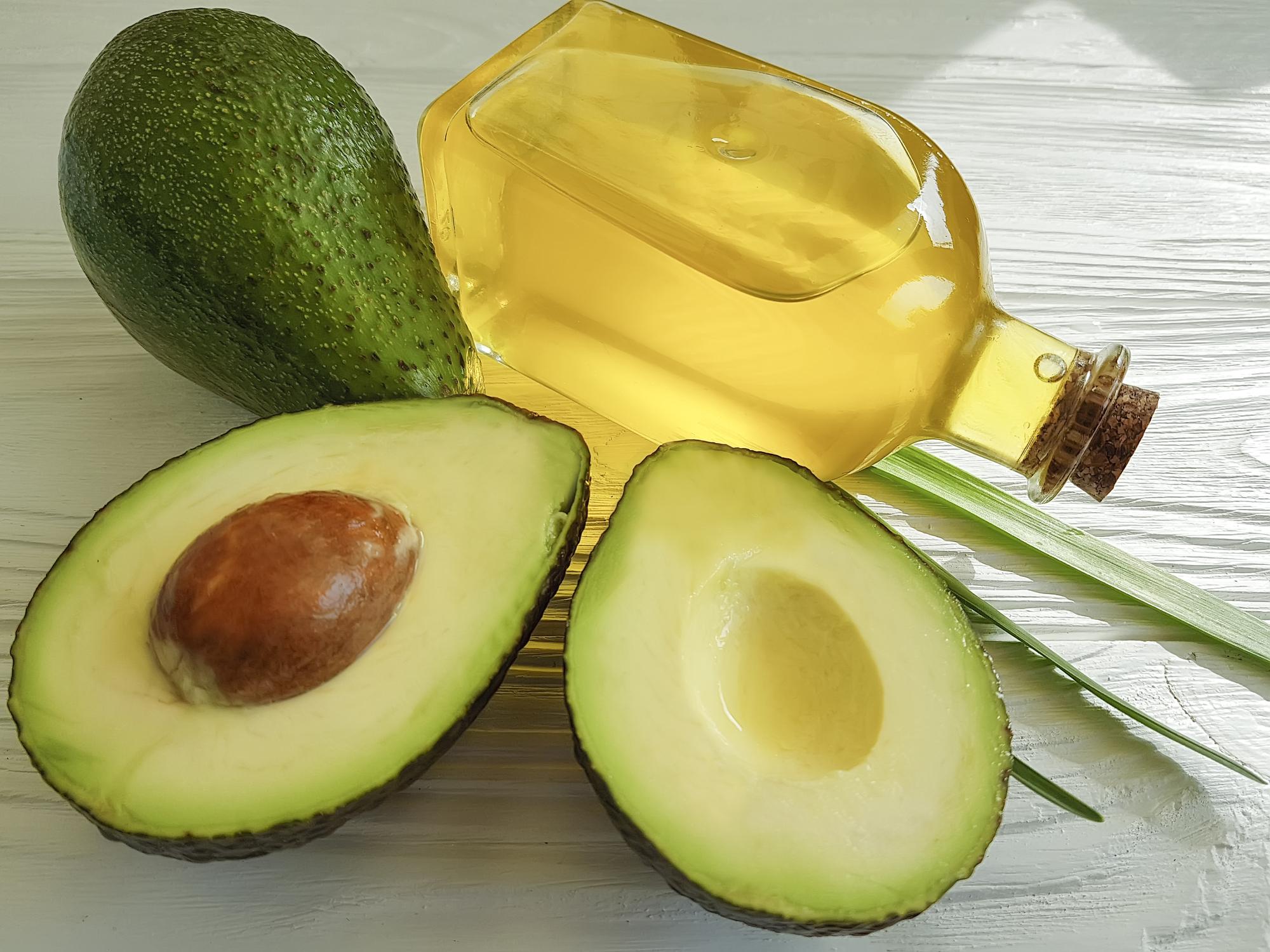 Abacate com azeite