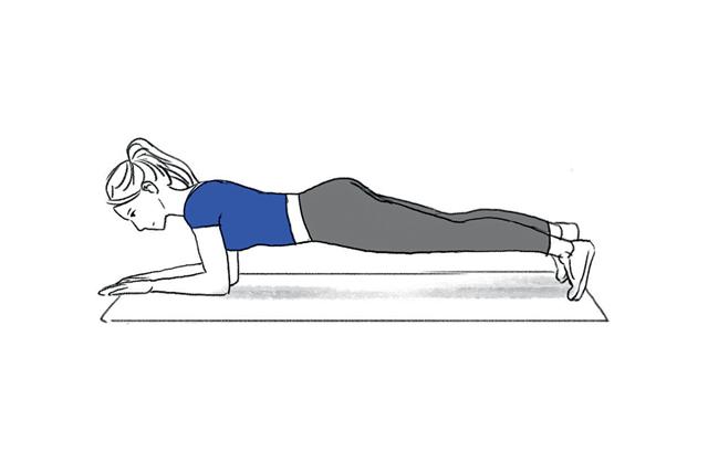 abdominal prancha