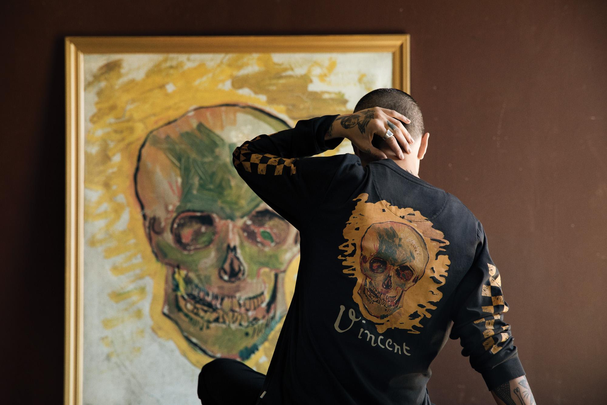 Parceria da Vans com museu da Gogh