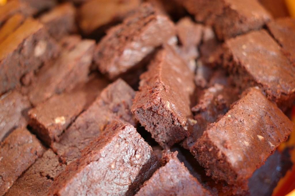 Brownie pode ser saudável