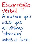 ESCORREGÃO VERBAL