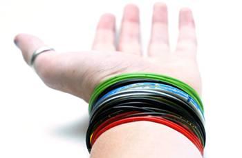 Cores das pulseiras do sexo têm conotações sexuais; Foto: Getty Images
