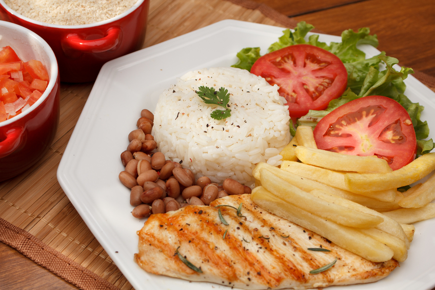 Almoço para os dias do Enem
