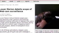Escândalo das mais de 56 mil fotos tiradas sem autorização dos alunos estampa principais sites americanos. Foto: reprodução / Philly.com