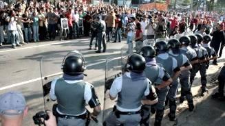 Greve: em 2009, reitoria chamou PM para impedir bloqueio de prédios