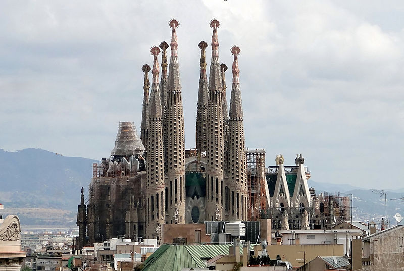 A Sagrada Família foi considerada Patrimônio Mundial da Unesco (Foto: Wikimedia Commons)