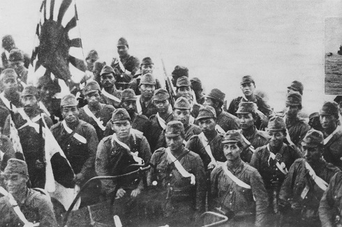 Japanese Invasion Troops