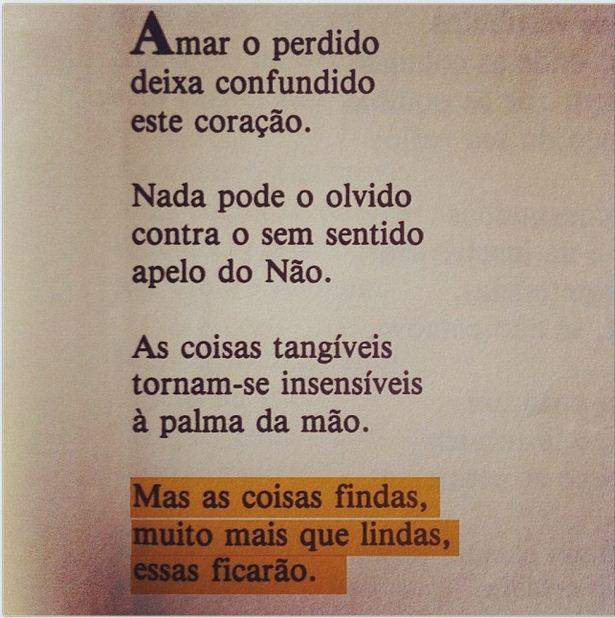 Claro Enigma. Carlos Drummond de Andrade