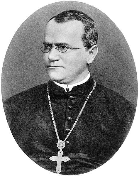 Retrato de Gregor Mendel, publicado em 1932 (Imagem: Wikimedia Commons)