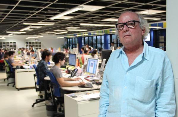 Washington Olivetto é sócio de uma das cinco maiores agências do Brasil (foto: Carolina Vellei)