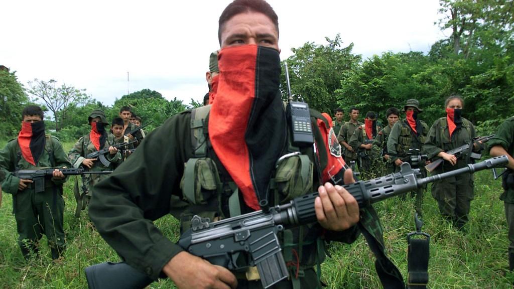 Integrantes do Exército de Libertação Nacional (ELN). Foto: Getty Images.