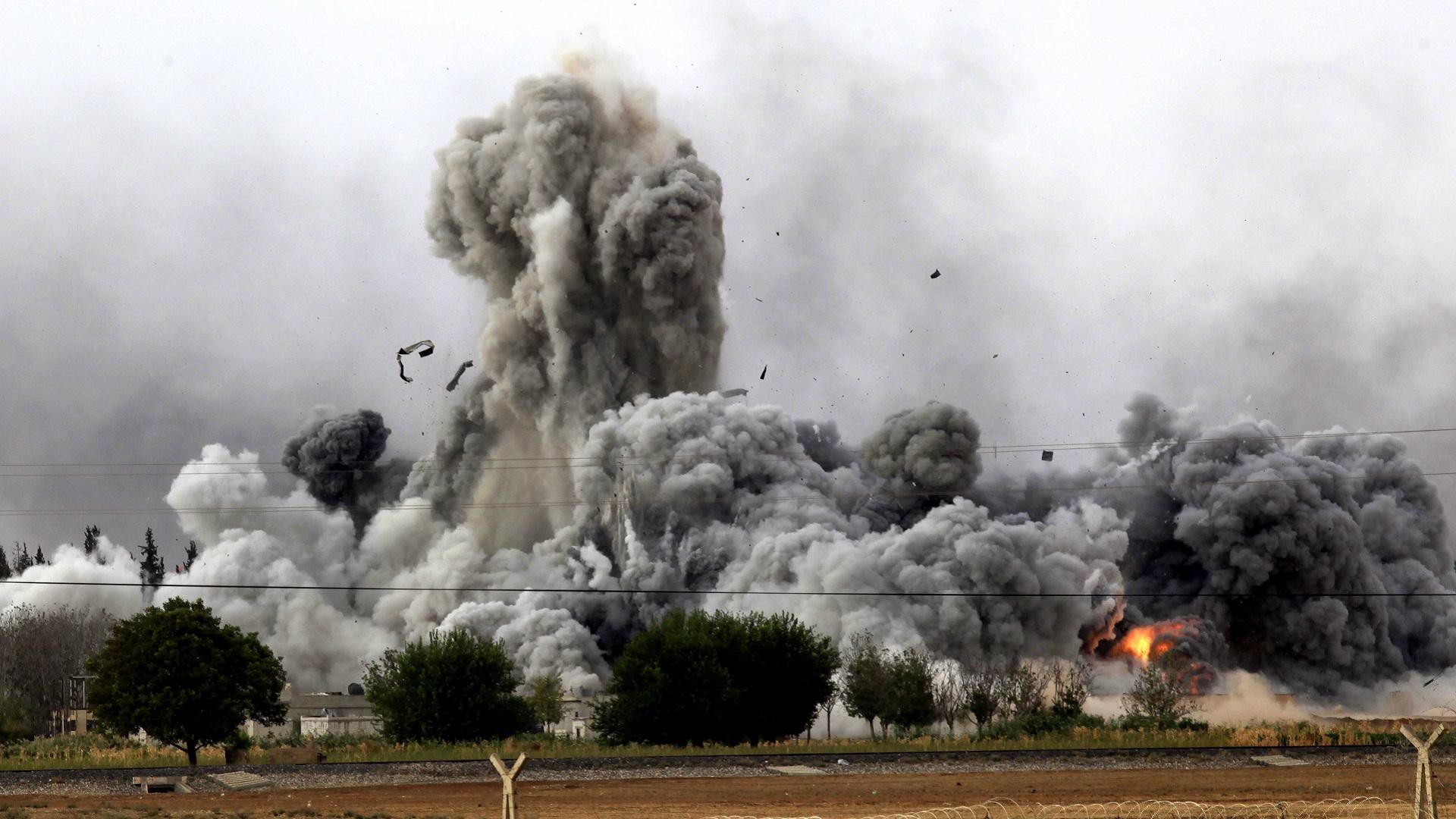 Atentado do Estado Islâmico contra forças curdas