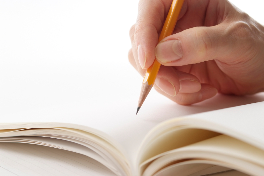 escrevendo-folha-branco