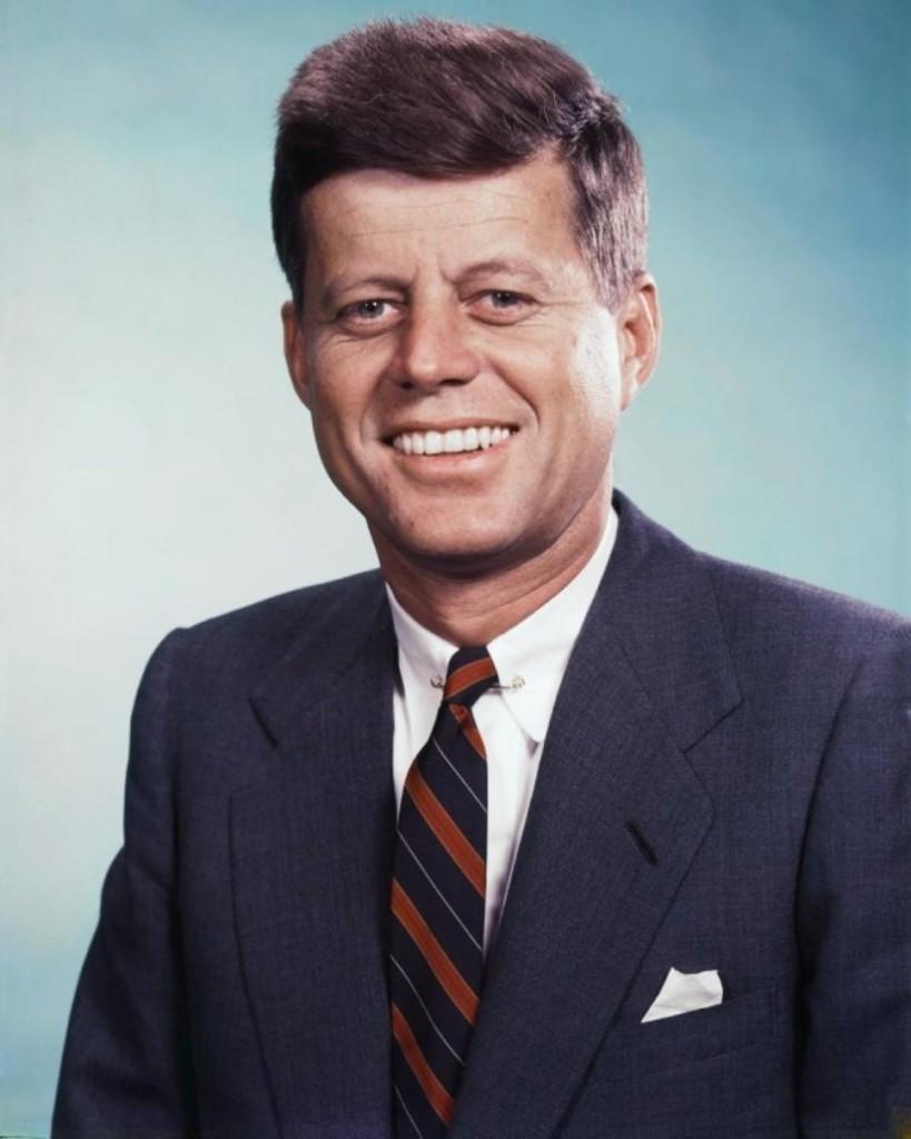 Ex-presidente dos Estados Unidos, John F. Kennedy. Foto: Wikimedia Commons
