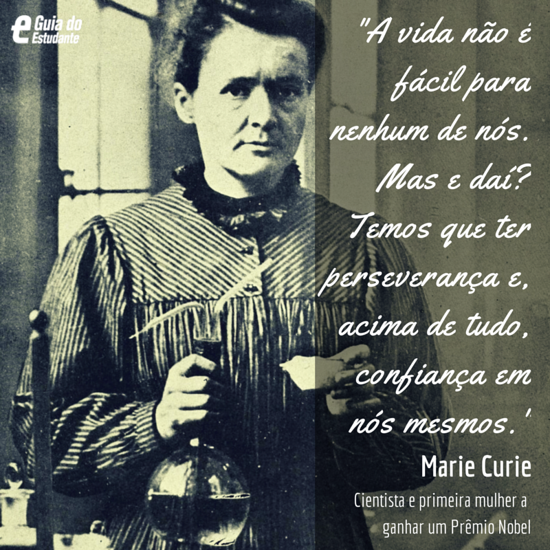 Marie Curie, science