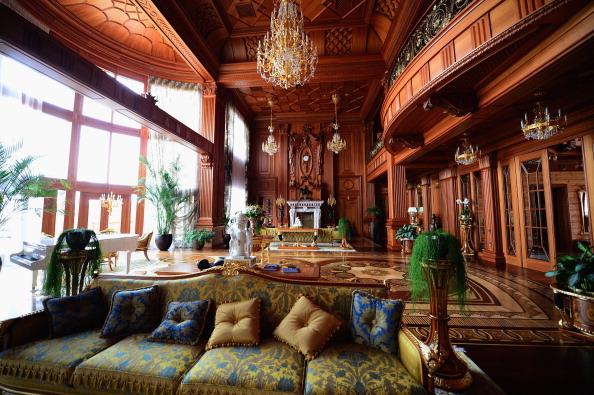 Inside The Presidential Palace Of  Former Ukrainian President Yanukovych
