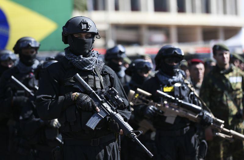 Forças de segurança, defesa e inteligência que atuarão nas Olimpíadas (Agência Brasil)