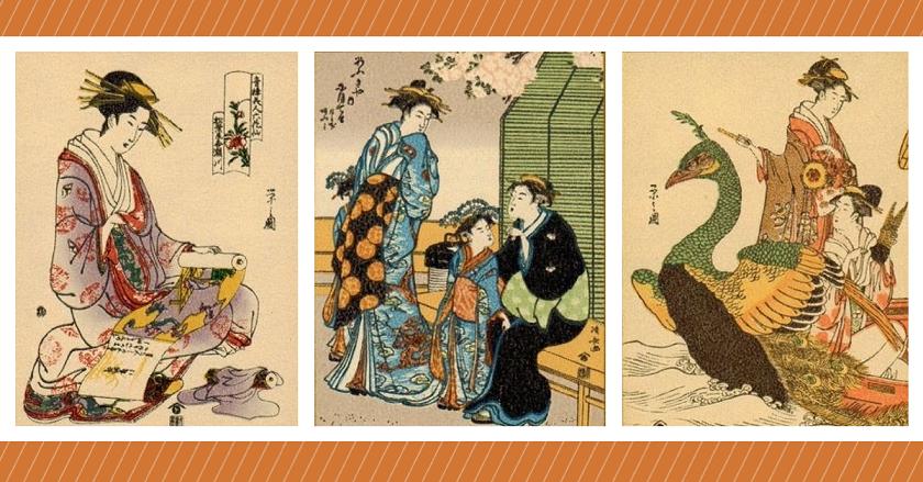 Muitas gueixas iniciavam seus estudos ainda crianças no Japão. Hoje o trabalho infantil é proibido (Imagem: Wikimedia Commons)