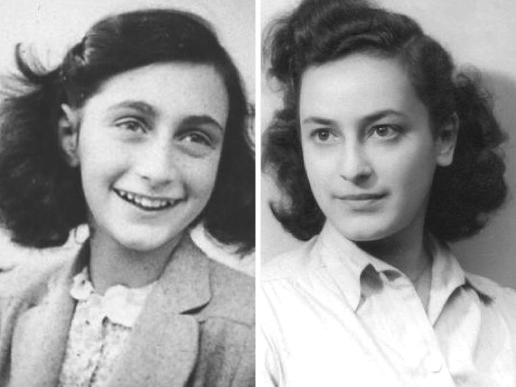 A alemã Anne Frank (à esquerda) e a francesa Hélène Berr (à direita), ambas mortas no holocausto nazista (imagem: reprodução)