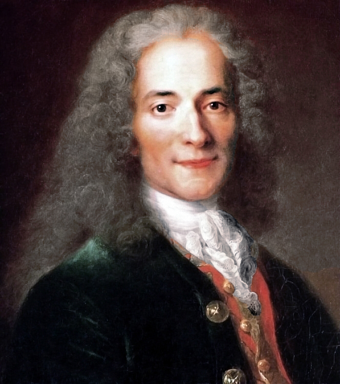 Retrato de Voltaire