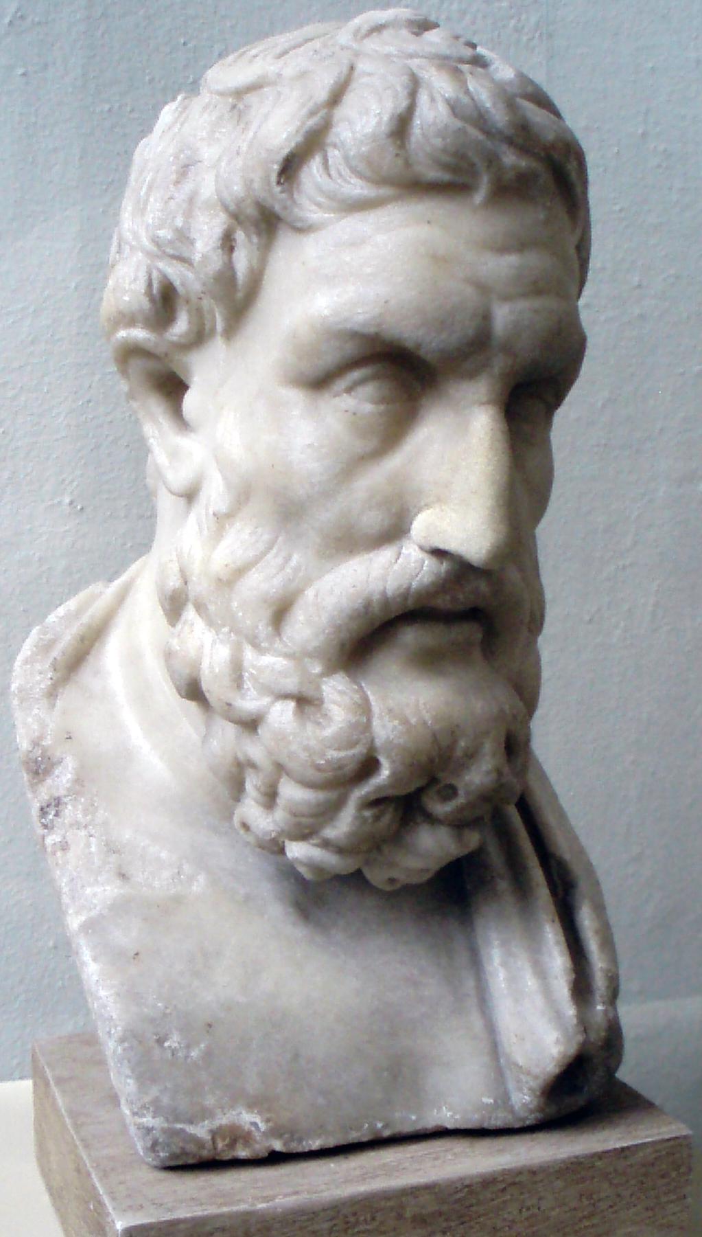 Busto de Epicuro