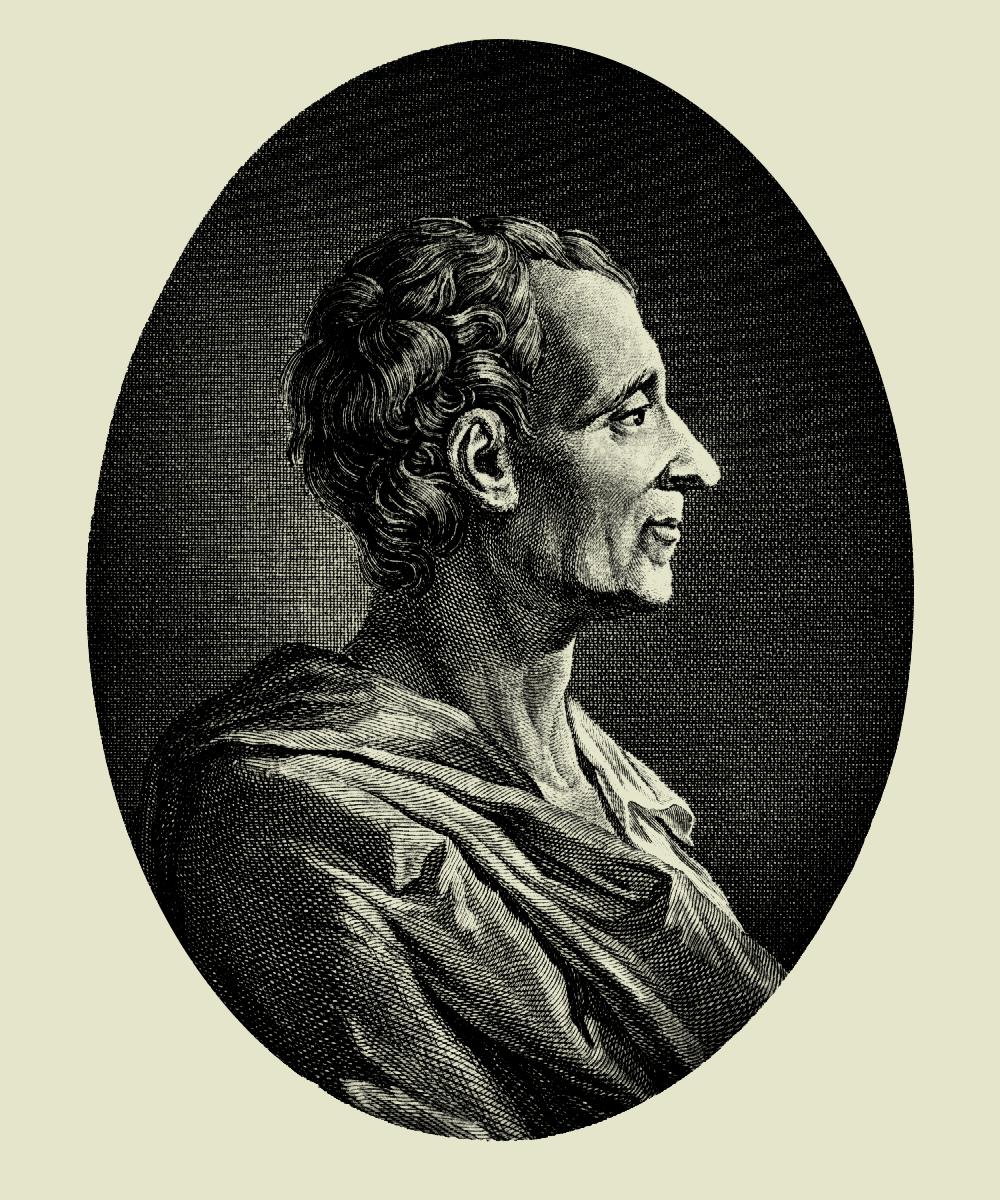 Retrato de Montesquieu