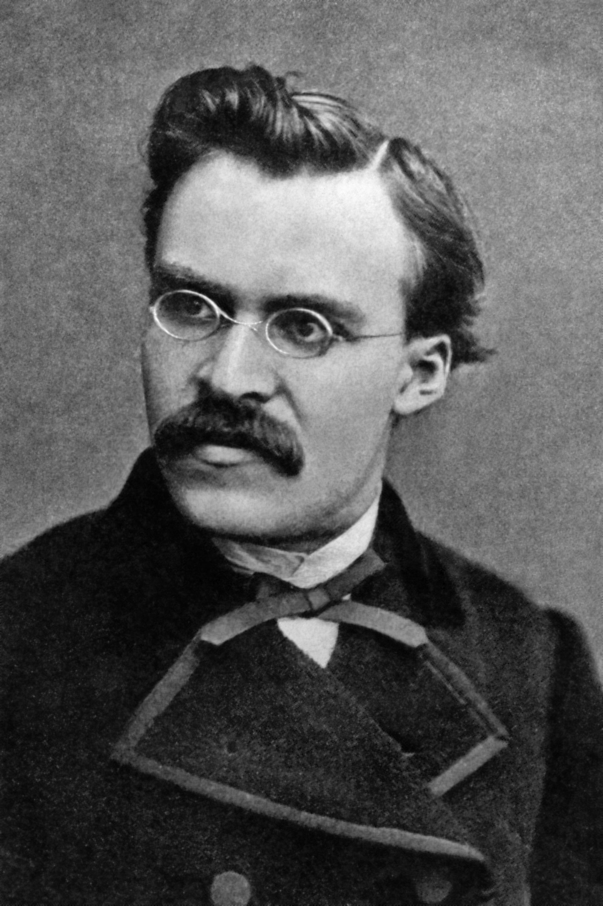 Retrato de Friedrich Nietzsche
