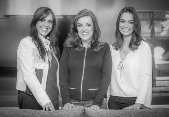 Ana, Angélica e Chris se uniram para fazer o projeto da Garagem Renault